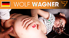 JezziCat gets picked up on street and fucked! Wolfwagner.com