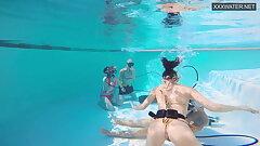 duo films – duo Eva Sasalka and Jason fucking underwater