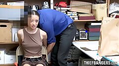 Hot Latina Shop Raider Strip-Searched & Fucked