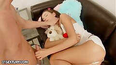 Anal teenager angel Nataly Gold