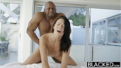 BLACKED Teen ultra-cutie tries Interracial assfuck sex