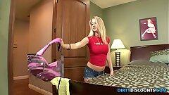 Petite teen tempts her fresh stepdaddy