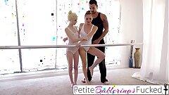PetiteBallerinasFucked- Young teen dancer lesbians