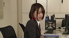 Little Japanese Teenage In School Office Fucked Rigid